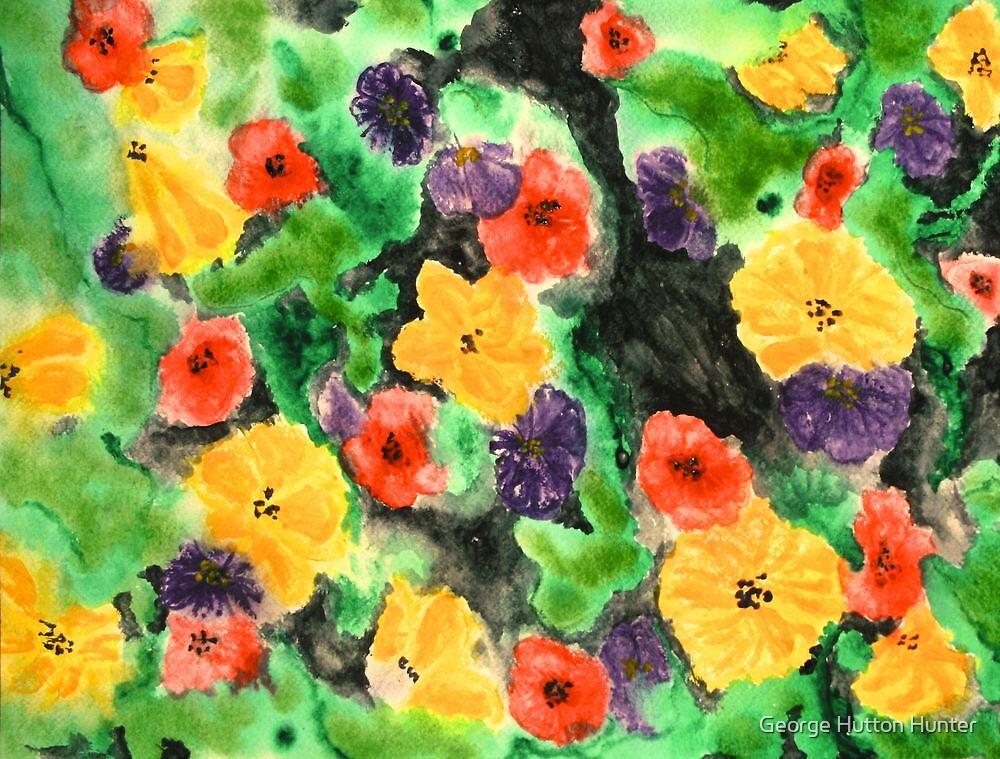 Flowering Wall by George Hunter