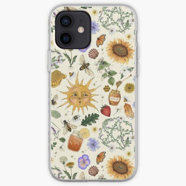 Litha Pattern- Cream iPhone Soft Case