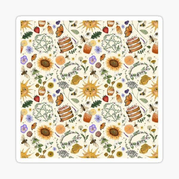 Litha Pattern- Cream Sticker