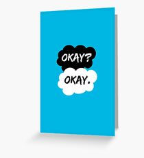 Okay? Okay. The Fault in Our Stars Greeting Card