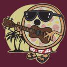 Hawaiian Pizza by DetourShirts