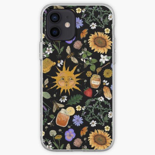 Litha Pattern- Black iPhone Soft Case