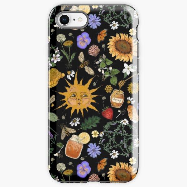 Litha Pattern- Black iPhone Tough Case