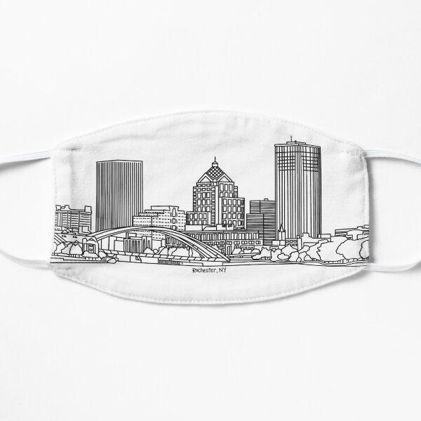 Rochester, New York Skyline Mask