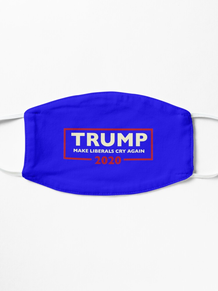 Alternate view of Donald Trump for President 2020 - Make Liberals Cry Again Mask