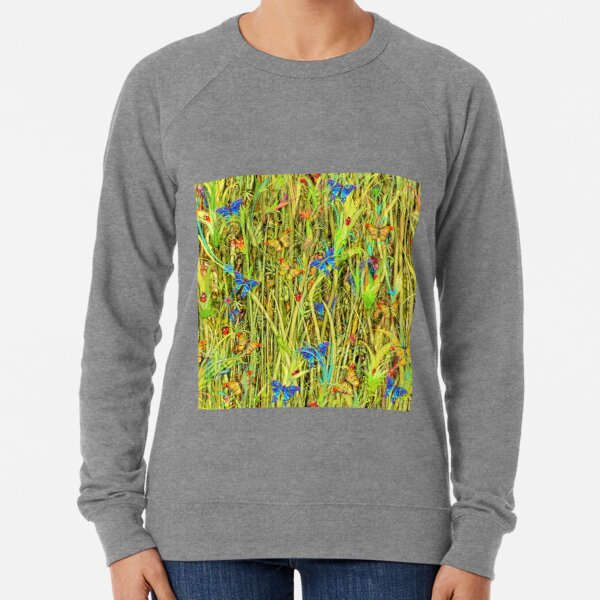 Qualias Butterflies Lightweight Sweatshirt