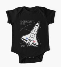 Space Shuttle Endeavour One Piece - Short Sleeve