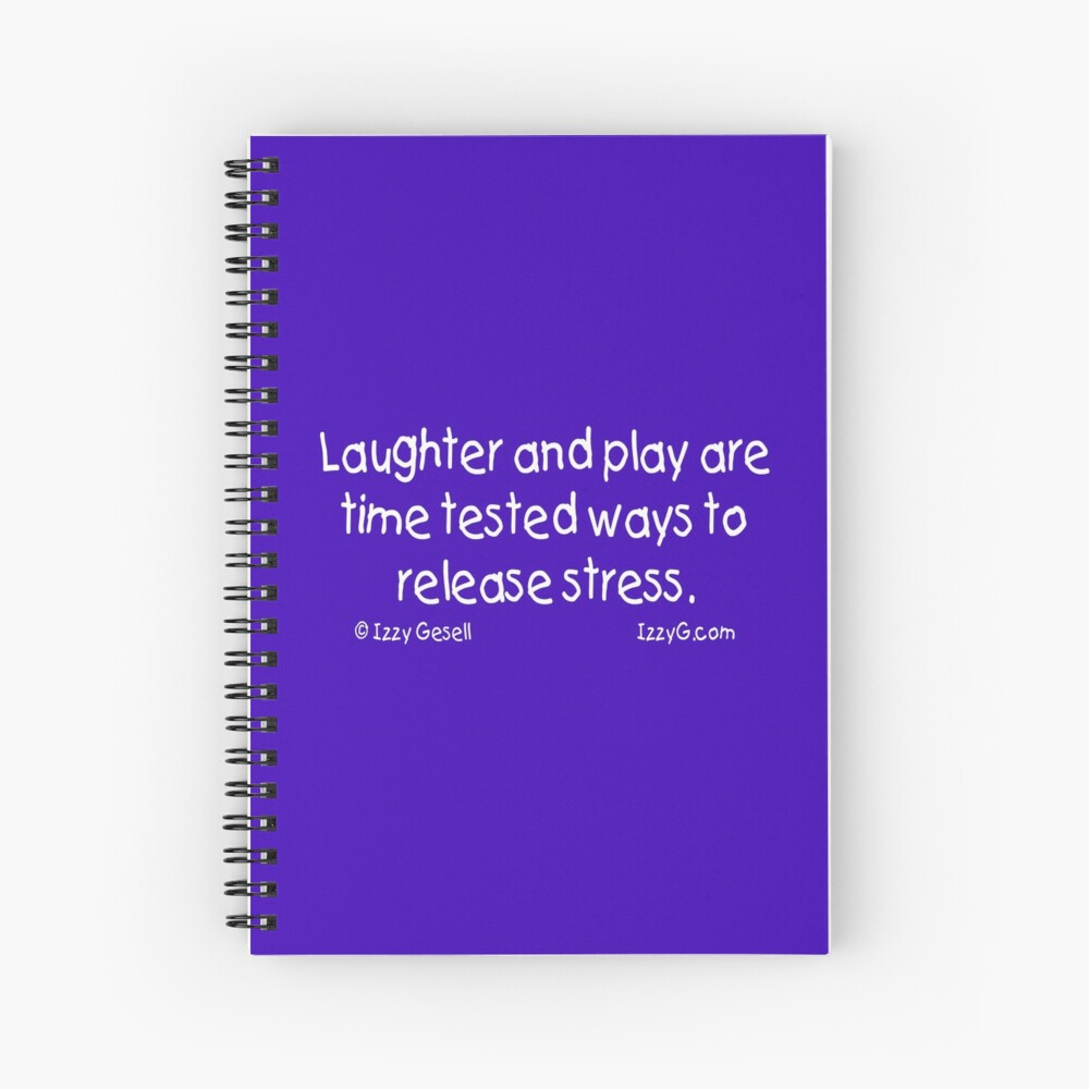 Laughter and Play Spiral Notebook
