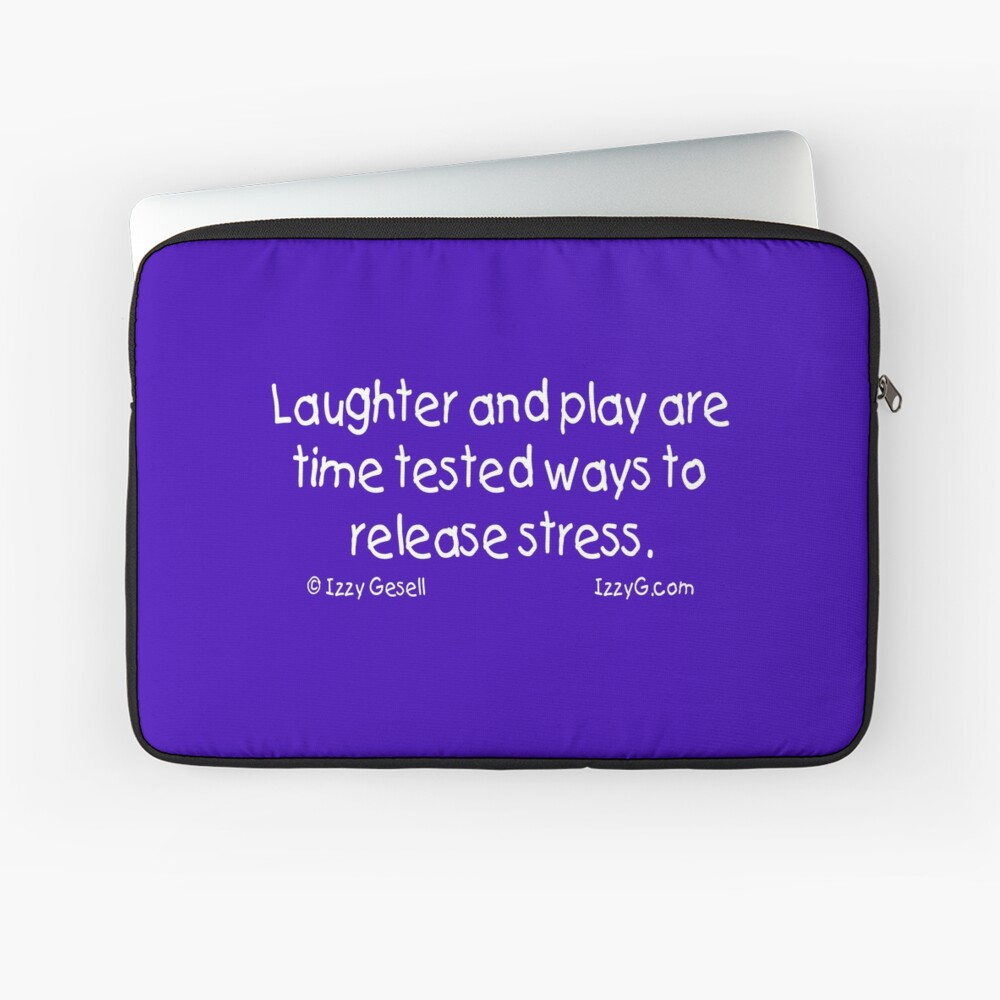 Laughter and Play Laptop Sleeve