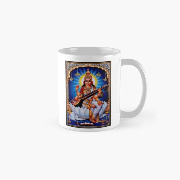 Hindu Tirakita Dieu de l'impression Sarasvati Mug classique
