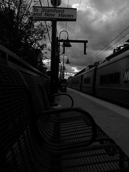 Train Platform - Northbound by Amanda Vontobel Photography/Random Fandom Stuff