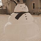 Snowman by Chris  Brewer