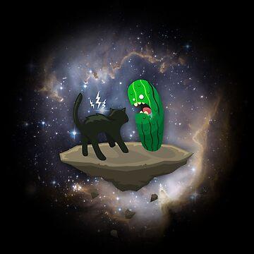 Cat vs Cucumber by TICS