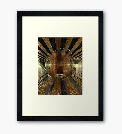 Sunrain Framed Print