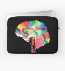 Colorful Brain Laptop Sleeve