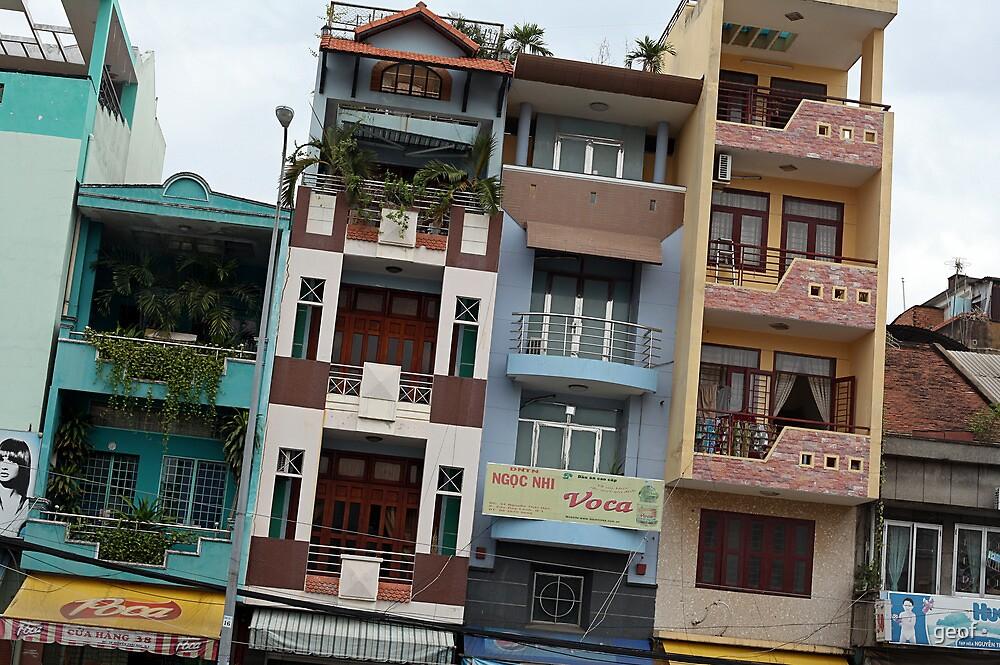 skinny houses by geof
