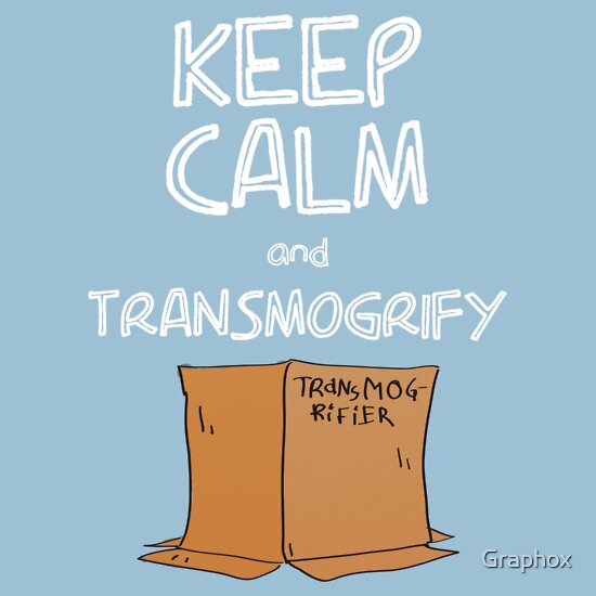 TShirtGifter presents: Keep Calm and Transmogrify | Unisex T-Shirt