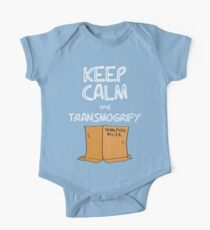 Keep Calm and Transmogrify One Piece - Short Sleeve