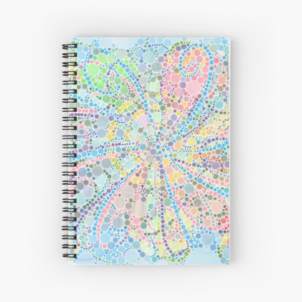 New Coral Spiral Notebook
