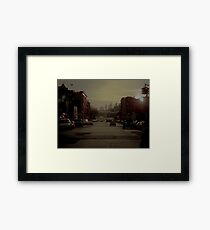 Williamsburg Brooklyn Framed Print