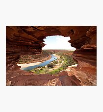 Looking through Natures Window Photographic Print