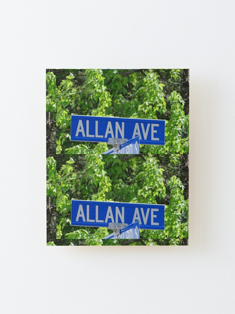 Alternate view of Allan  Mounted Print