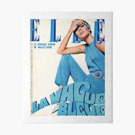 Elle Magazine Art Board Print