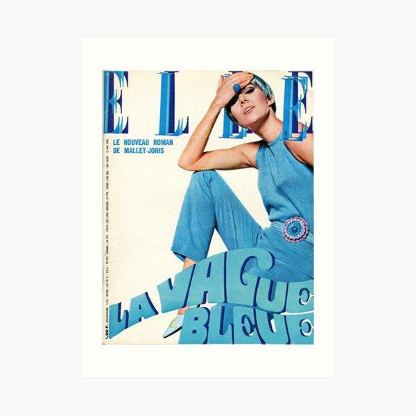 Elle Magazine Art Print
