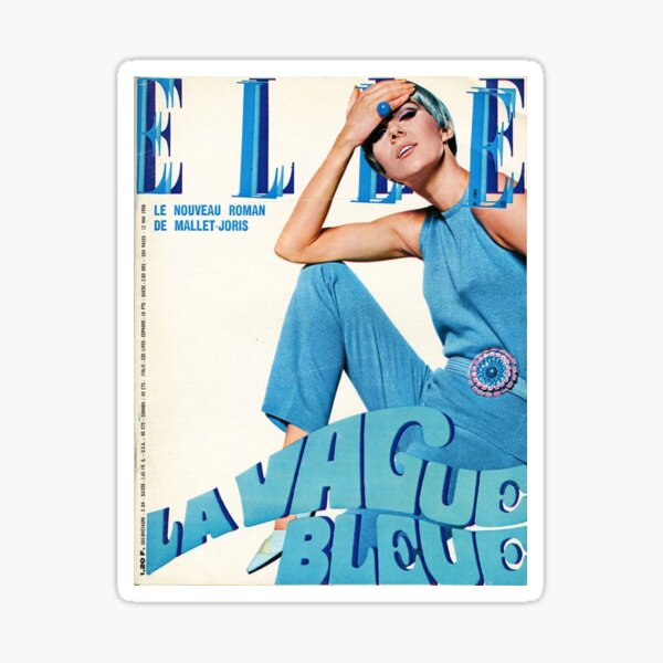 Elle Magazine Sticker