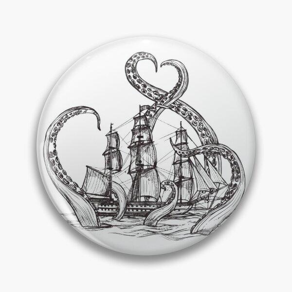 Kraken Pin