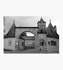 Rothenburg Photographic Print
