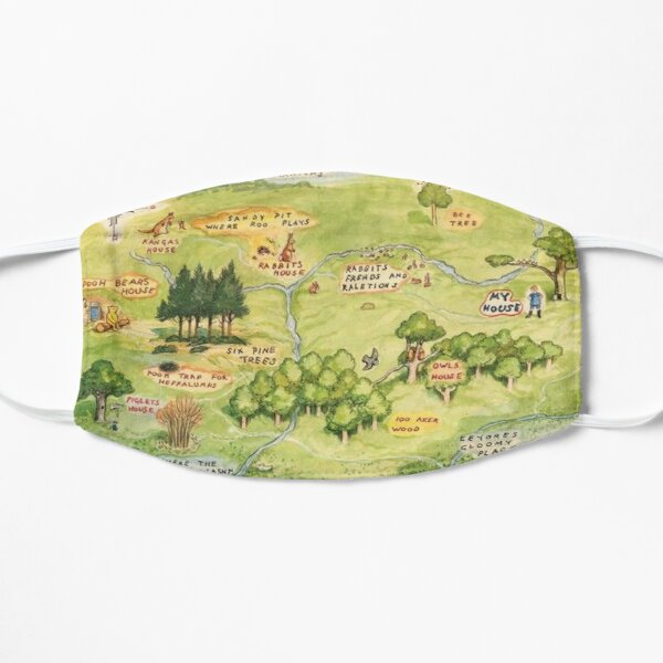 Hundred Acre Woods Map Mask