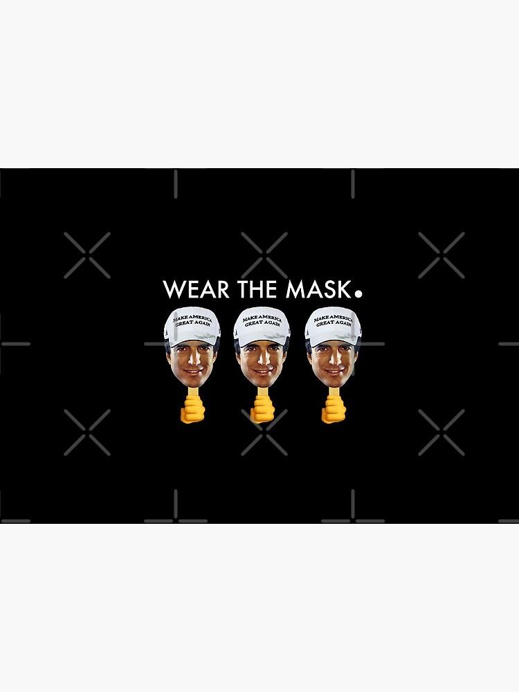 JFK Jr Wear the Mask by JenniferMac