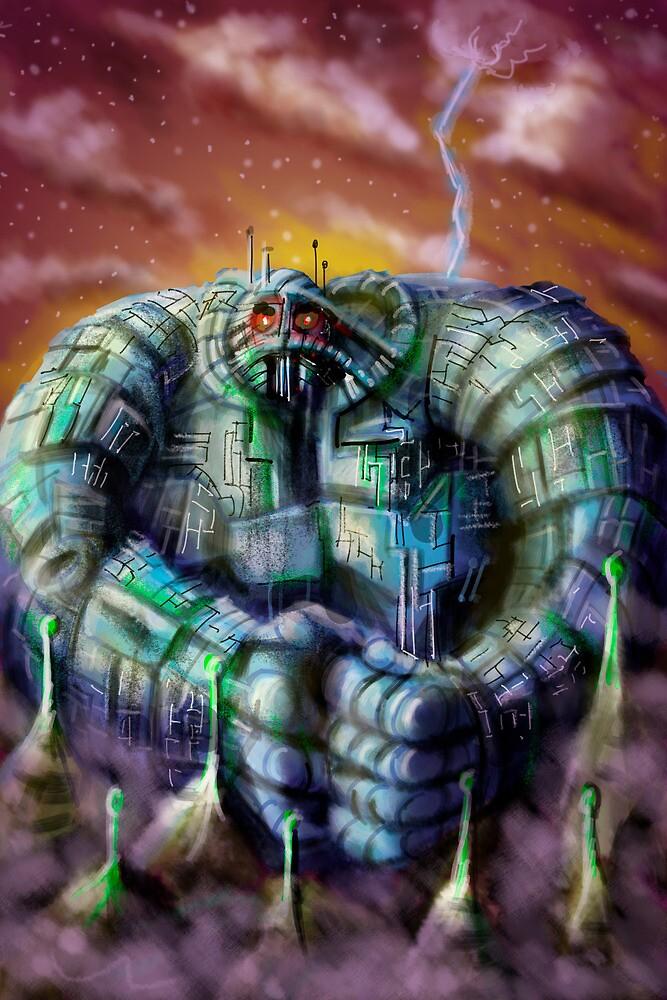 Giant Robot by Matt Bissett-Johnson
