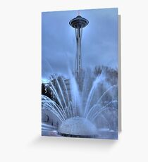 Fountain and the Needle Greeting Card
