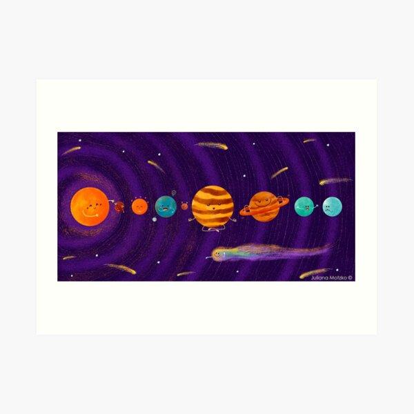 Cute Universe Art Print