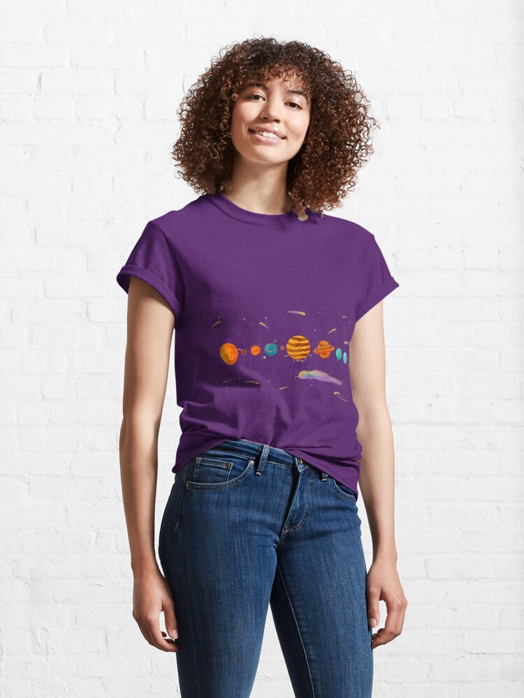 Alternate view of Cute Universe Classic T-Shirt