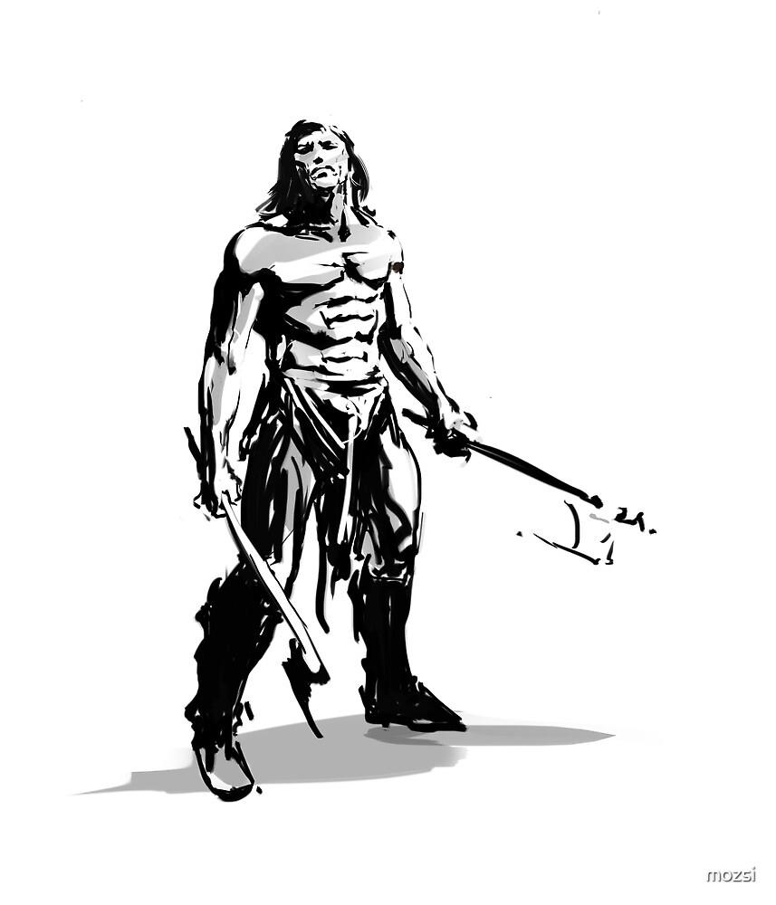 conan_the savage sword by mozsi