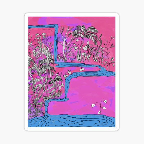 Dream Waterfall (2020) Sticker