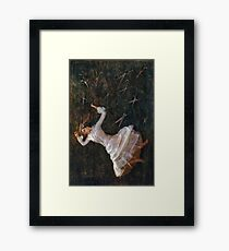 For in that sleep of death what dreams may come  Framed Print