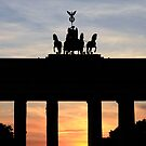 Brandenburg Gate by Rosalee Lustig