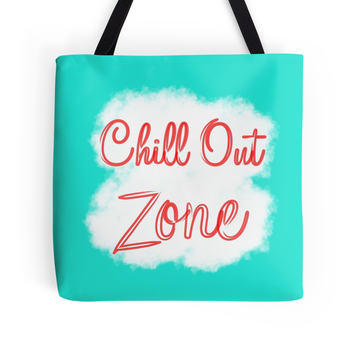 chill out zone tote bags by artification redbubble. Black Bedroom Furniture Sets. Home Design Ideas