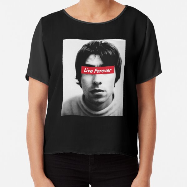 Oasis Live forever Chiffon Top