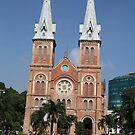Notre Dame cathedral, Saigon by geof