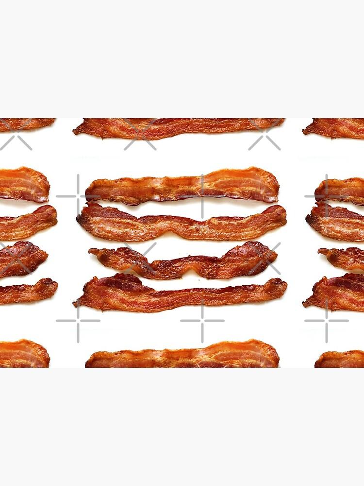 Bacon, Bacon socks, Bacon greeting card, Bacon mug, Bacon pillow, Bacon mask  by PicsByMi
