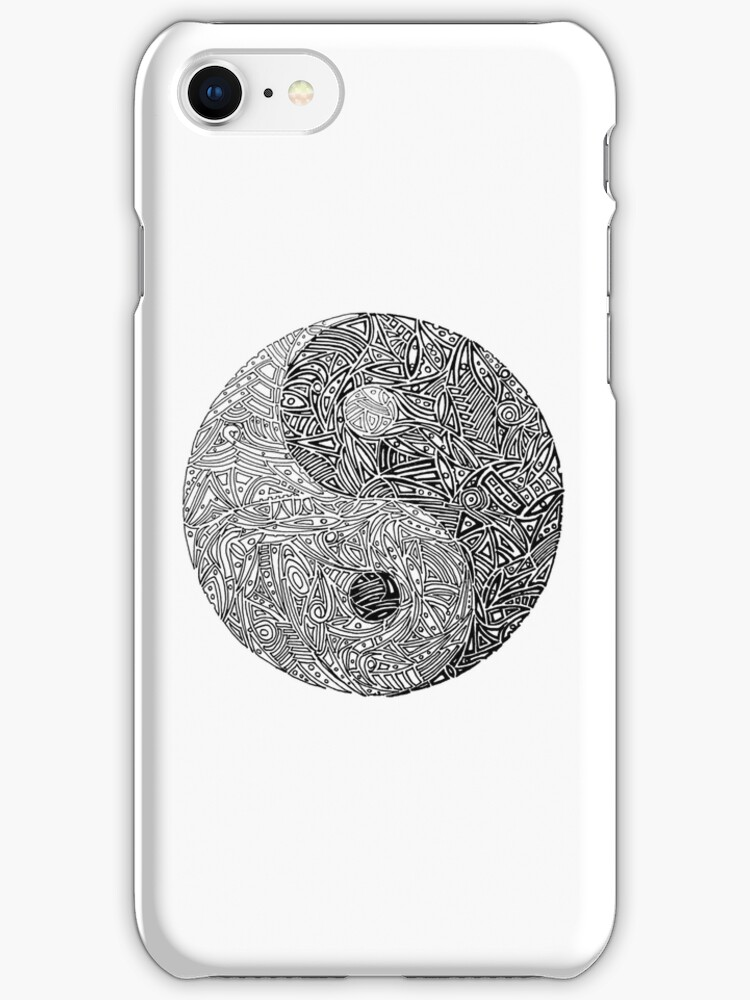 Abstract Yin-Yang Symbol by MrSkipper