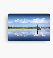 Dal Lake, Kashmir Canvas Print
