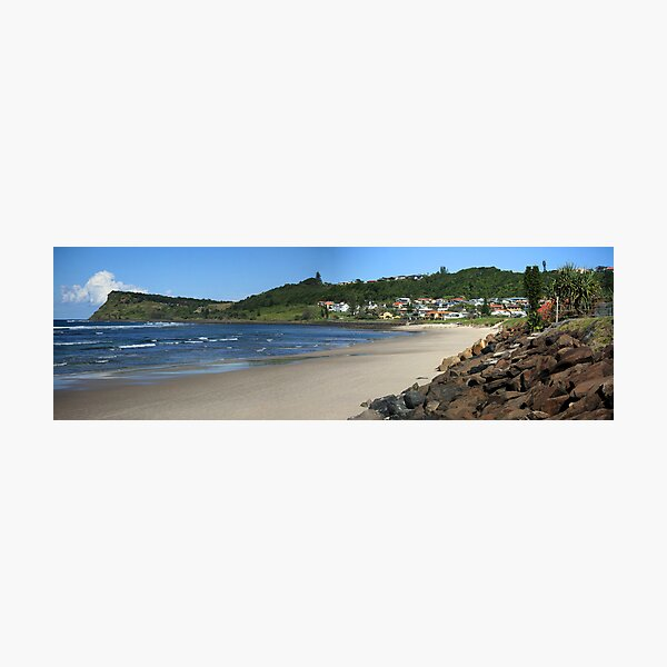 Seven Mile Beach - Lennox Head NSW Photographic Print
