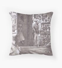 Typical corner shop!!  in my world  Throw Pillow