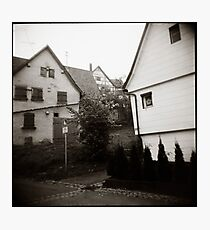 { foggy morning } Photographic Print